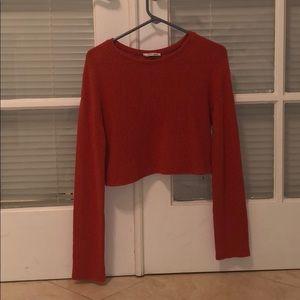 Orange Zara Sweater